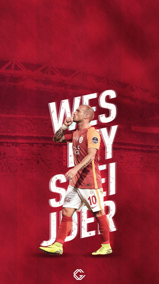 Wesley Sneijder Wallpaper by acemogluali on DeviantArt