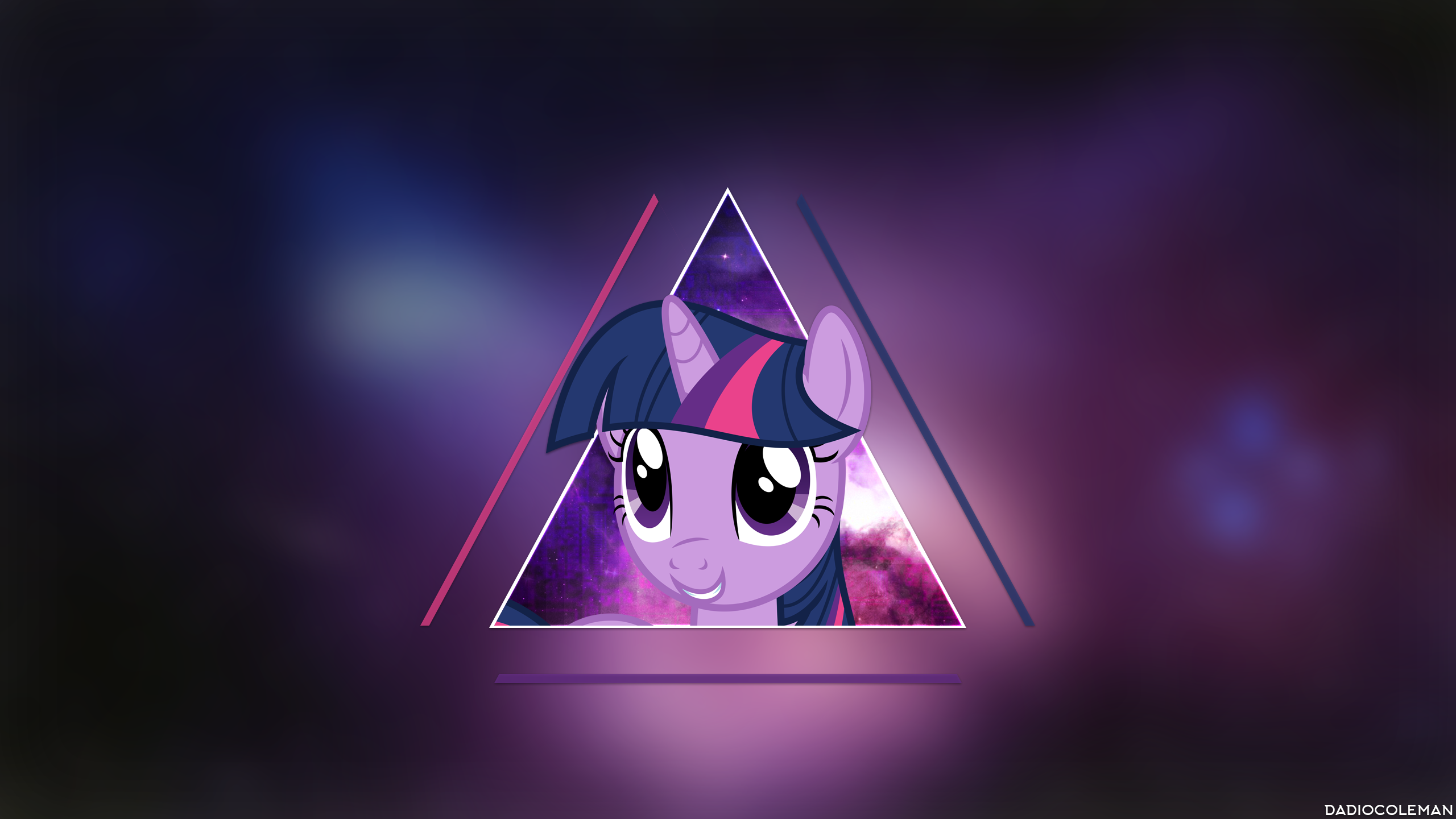 Twilight Sparkle - Space by dadiocoleman