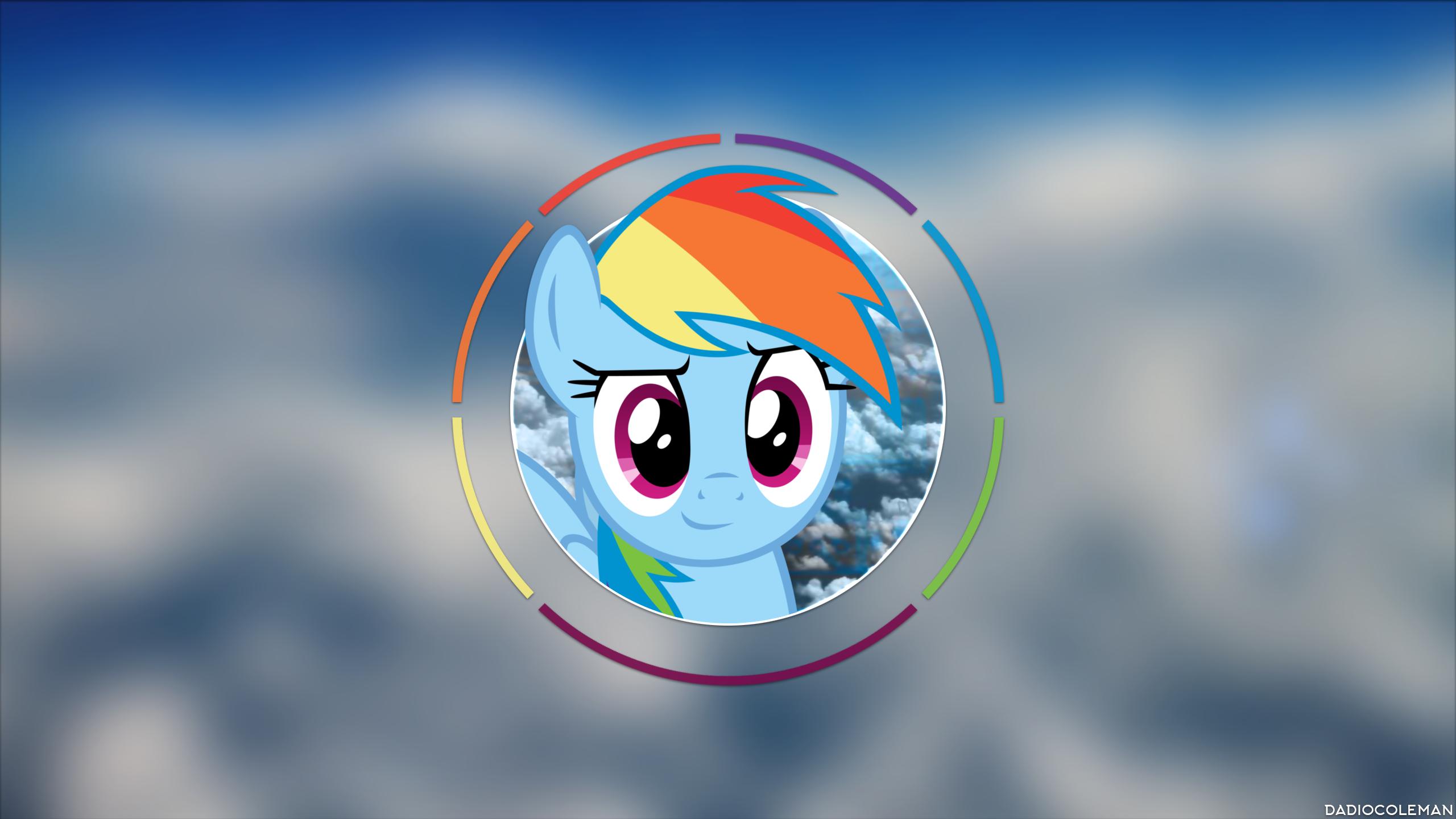 Rainbow Dash - Sky by dadiocoleman