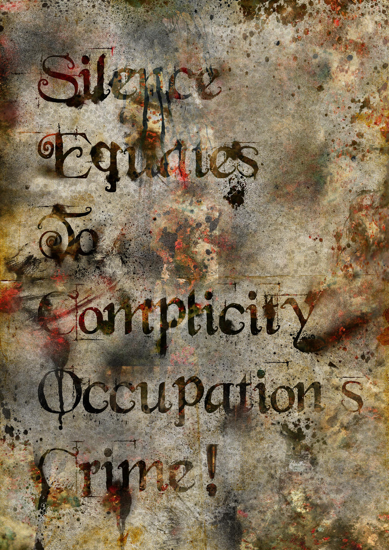 Silence Equates To Crimes
