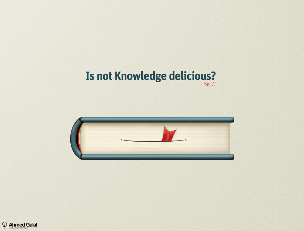 ISNT Knowledge delicious 3 by AhmedGalal