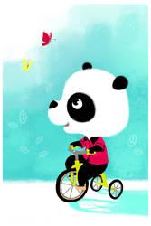 Panda by cosmococo