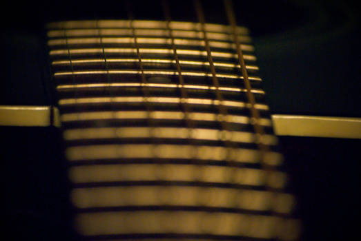 8th Fret, D String