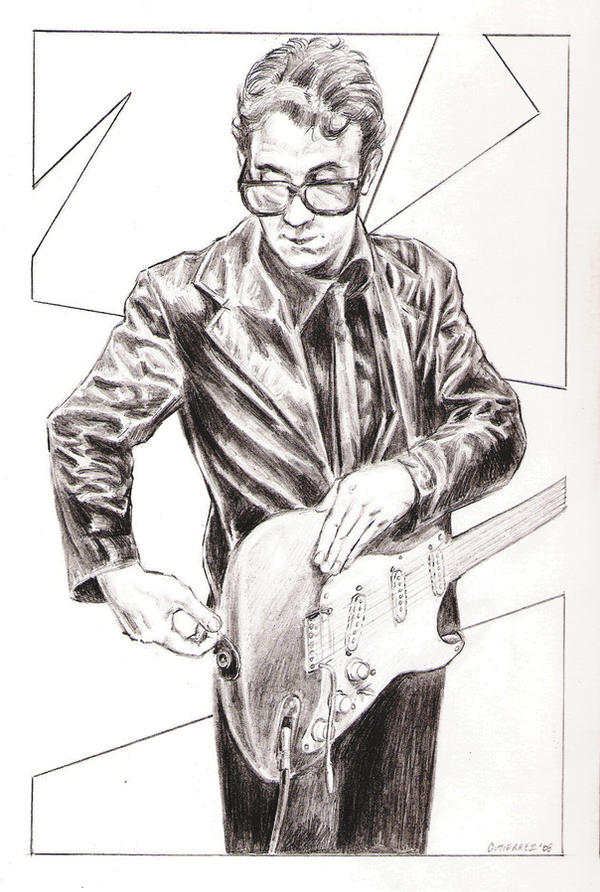 Elvis Costello by The-Savage-Ape-Man