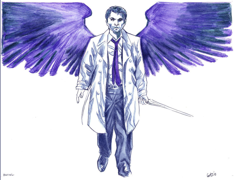 Castiel by The-Savage-Ape-Man