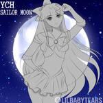 YCH Sailor Moon | 3 / 5 SLOTS OPEN !