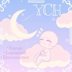 YCH CHIBI SLEEPTIME   SETPRICE OPEN by lilbabytears