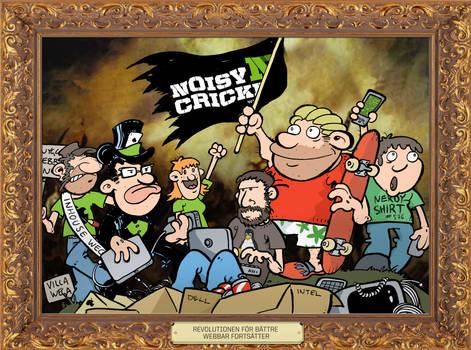 The noisy revolution