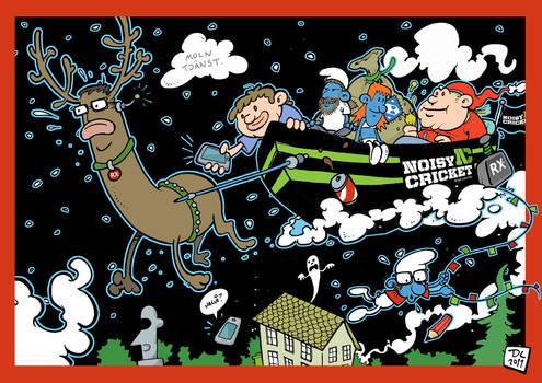 A noisy Christmas of Jool