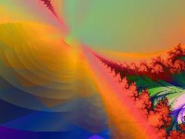 Stellar Canvas Fractal