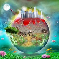 World        we love by anushhk-13