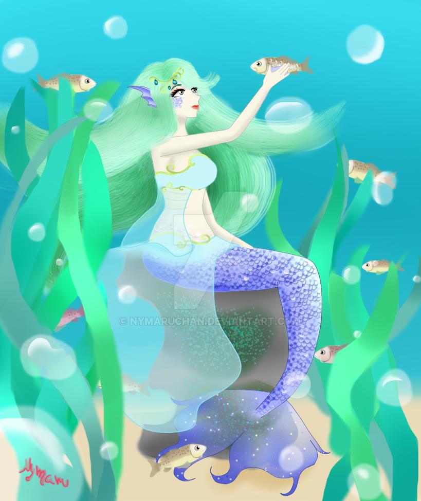 mermaid princess by Nymaruchan