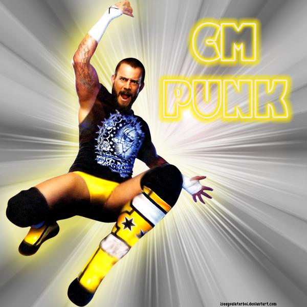 CM Punk + by A-H-D