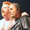 Bret Hart and Sheamus icon by A-H-D