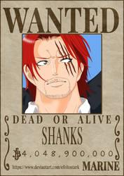 Shanks' Bounty - One Piece