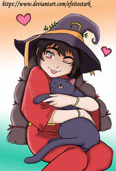 Every witch has her cat