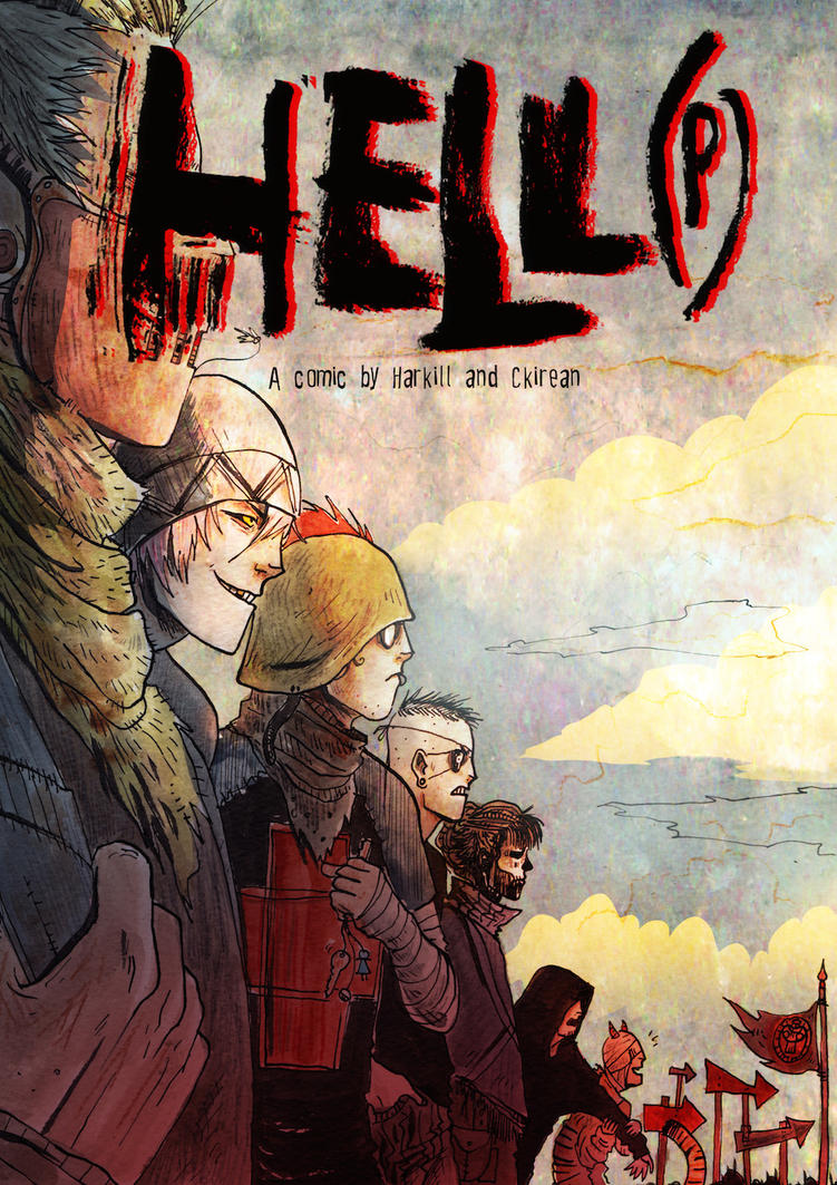 HeLL(P) Chapter 3 Cover by Harkill
