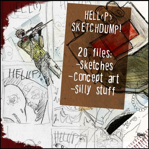 HeLL(P) Sketchdump #2 by Harkill