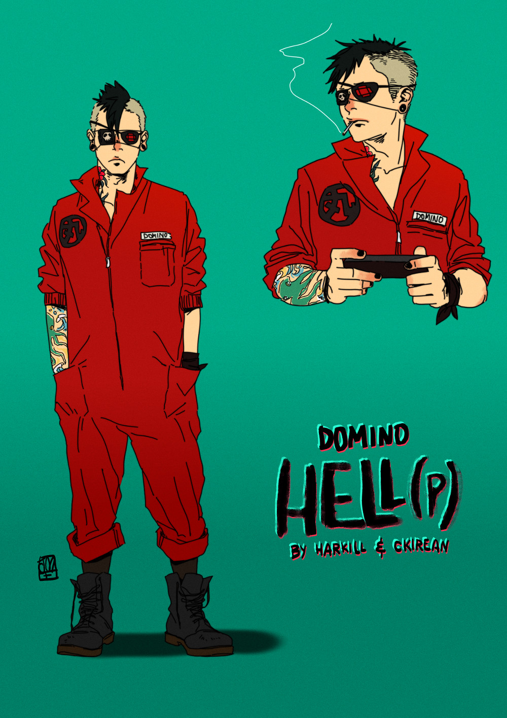 Domino by jessica mars by Harkill