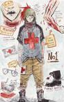 Character Sheet: No1 by Harkill