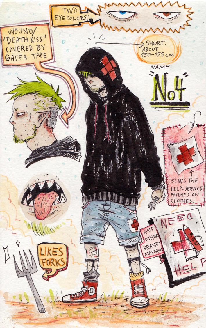 Character Sheet: No4 by Harkill