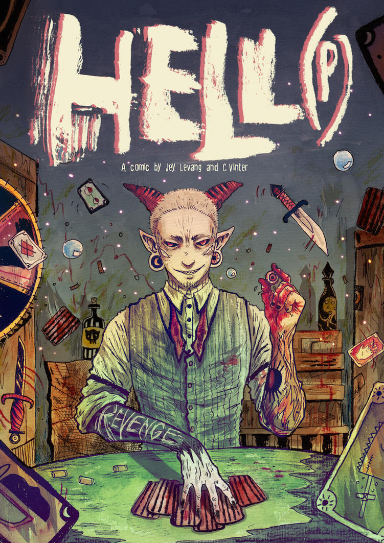 HeLL(P) C5, Part 2, COVER by Harkill