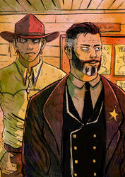Frank and Sheriff Hollman