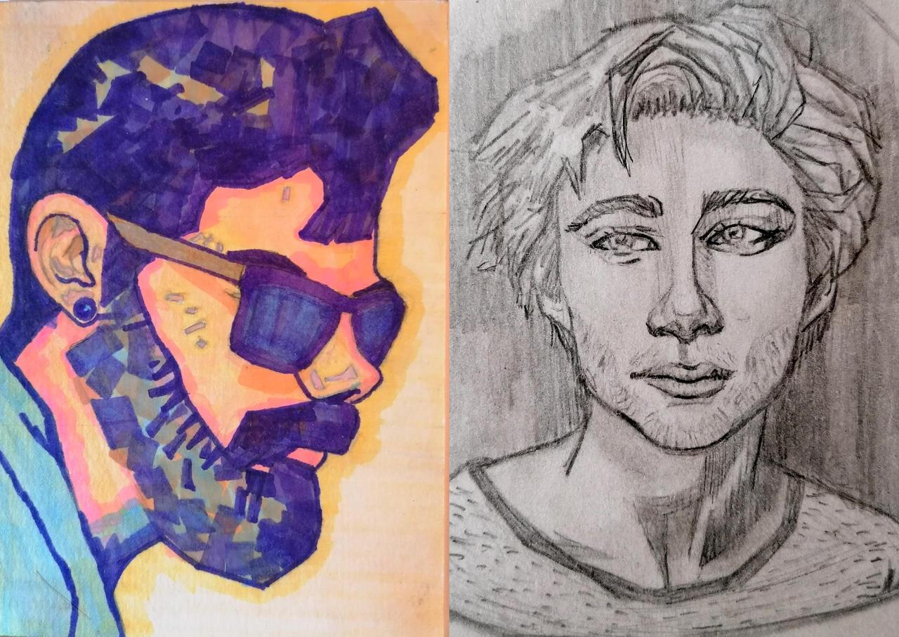 Sketch portrait study #2