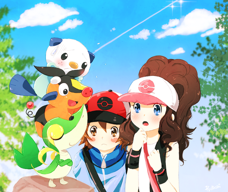 Pokemon Black n White by ~Ryotashisamax3 on deviantART