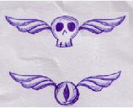 Tattoo: Skull and Eye by NextGoRound