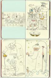 vikings sketchbook