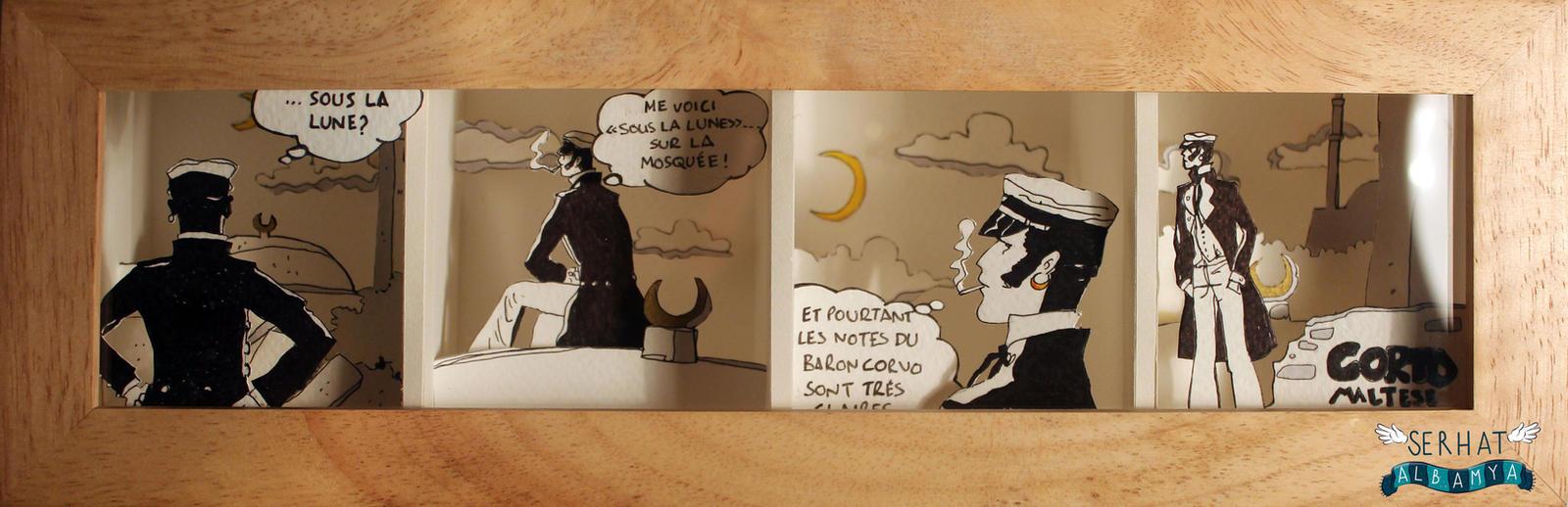 La luna by serhatalbamya