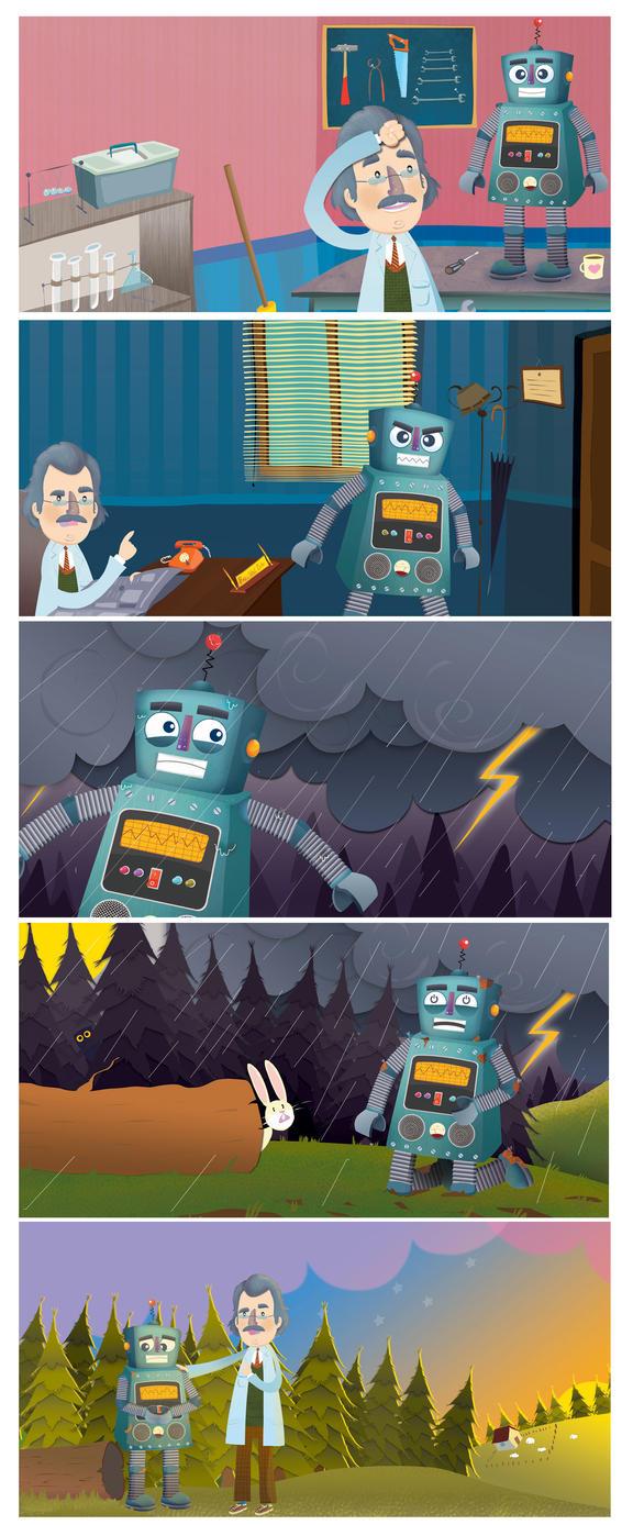 Yaramaz Robot by serhatalbamya