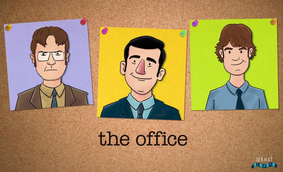 The Office by serhatalbamya
