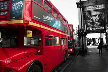 Hop on Hop off Bus London by Pats-Photography