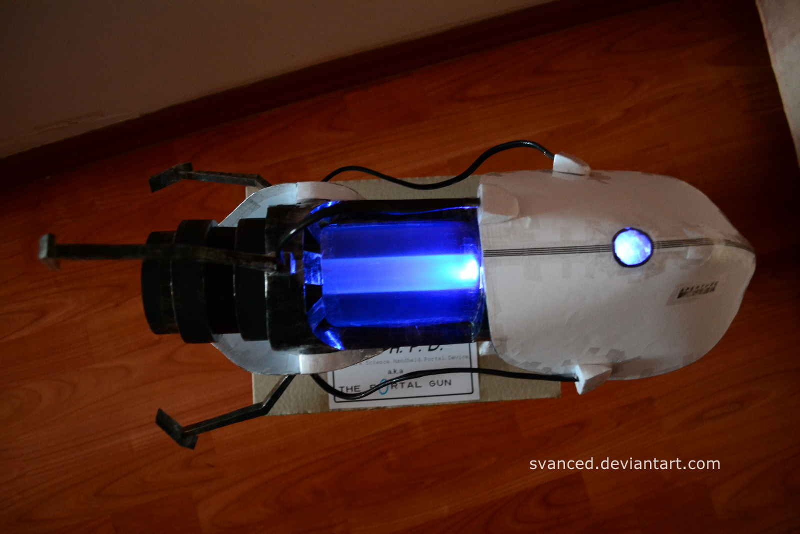 Portal Gun Papercraft 3 By Svanced By Svanced On Deviantart