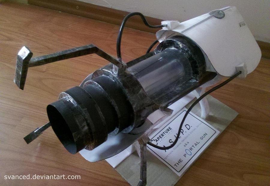 Portal gun papercraft 5 by svanced