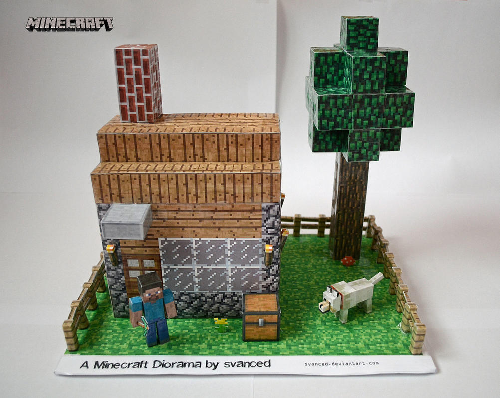 Minecraft diorama by svanced 1 download by svanced on deviantart minecraft diorama by svanced 1 download by svanced jeuxipadfo Images