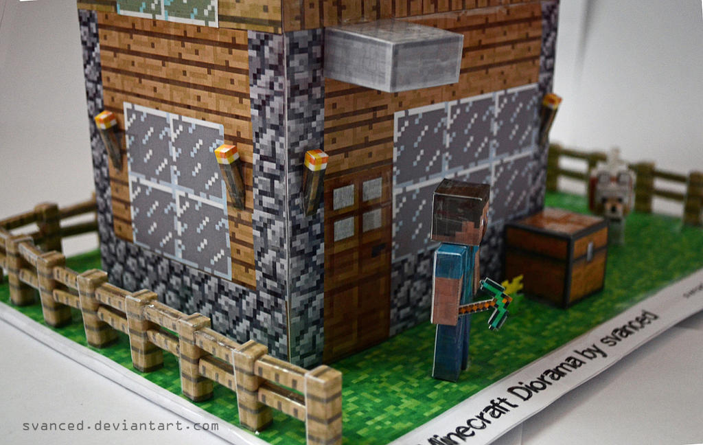 Minecraft Diorama By Svanced 2 By Svanced ...