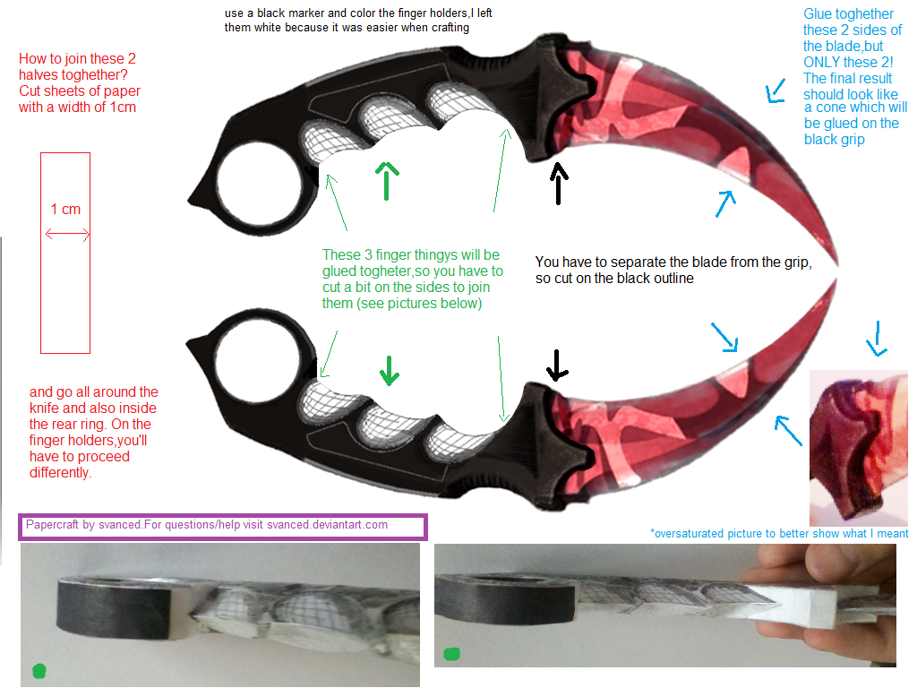 CSGO Karambit Slaughter Template Tutorial by svanced on DeviantArt