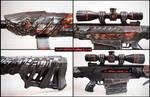 Crossfire Barrett Obsidian Beast VIP Papercraft 2