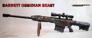 CF Barrett Obsidian Beast Papercraft + DOWNLOAD