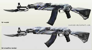 Next project: AK47 Iron Beast Papercraft