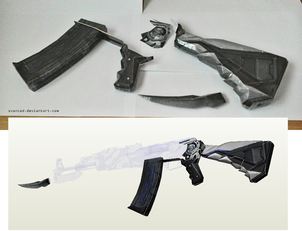 Wip Crossfire Iron Beast Papercraft Svanced Ak Images