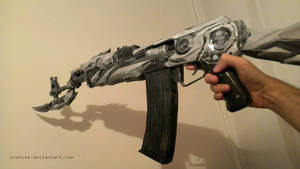 [WIP] Crossfire AK47 Iron Beast Papercraft 2