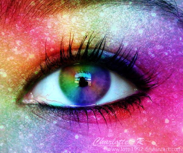 Rainbow Eye by Lotti1992