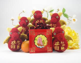 Chinese New Year Dragons by KodaijinYurei
