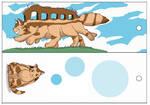 Ghibli Bookmarks - Catbus