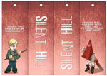 Silent Hill Bookmarks 04