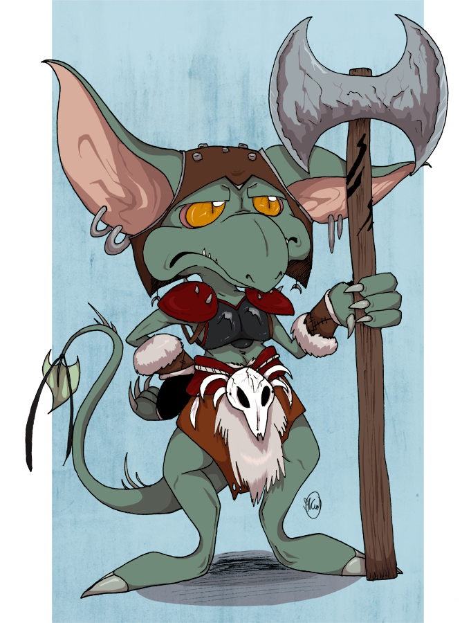 Goblin -Original- by Dezfezable